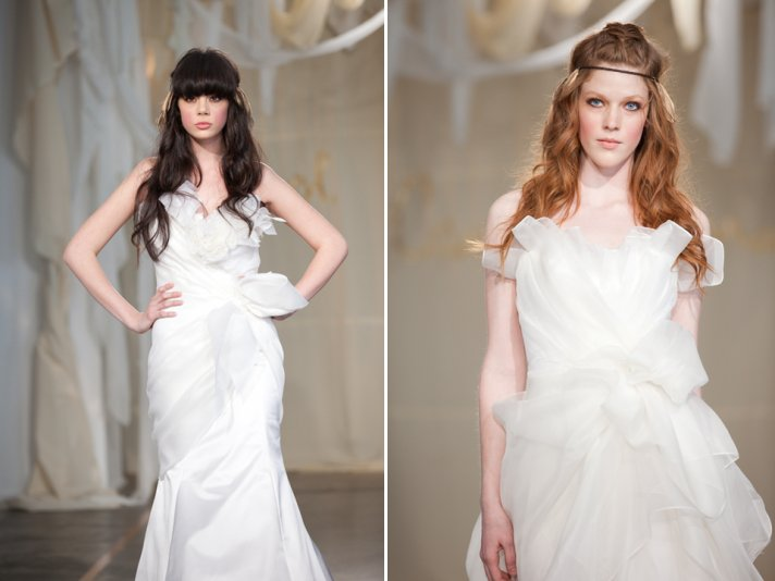 All-down loose waves- on-trend wedding hairstyle for 2011