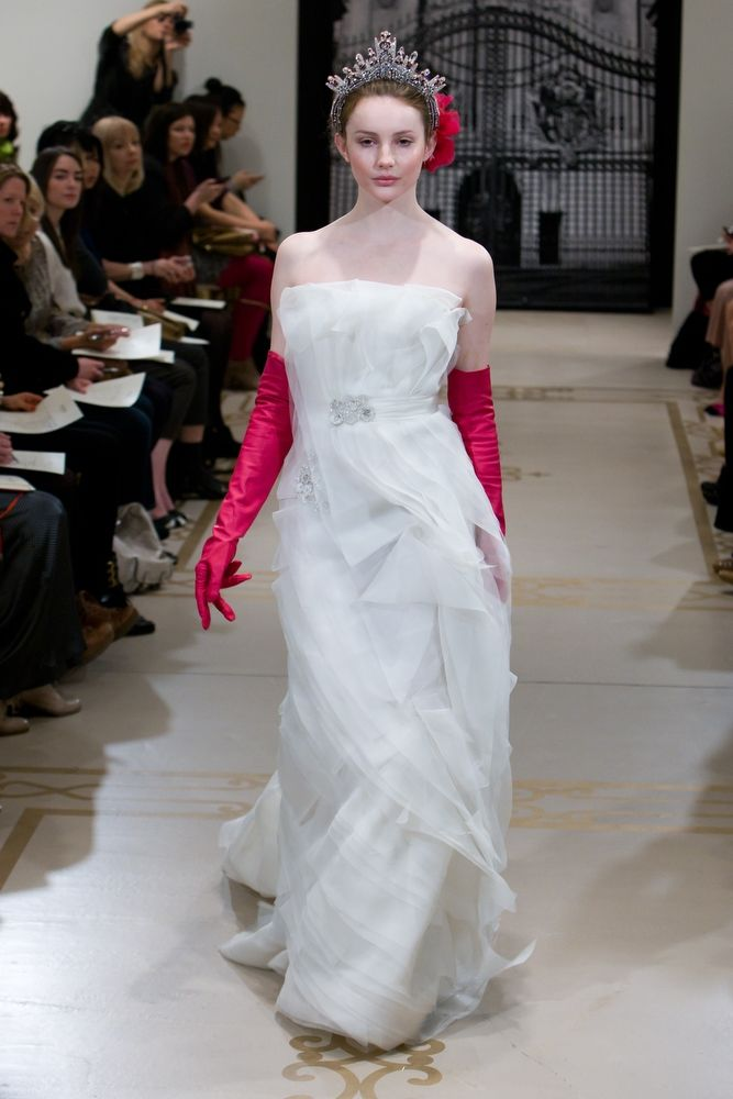 Princess-inspired Spring 2012 bridal gowns by Reem Acra