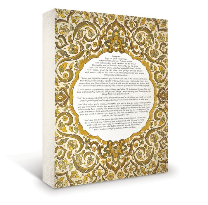 Win a fine art piece customized with your special wedding vows