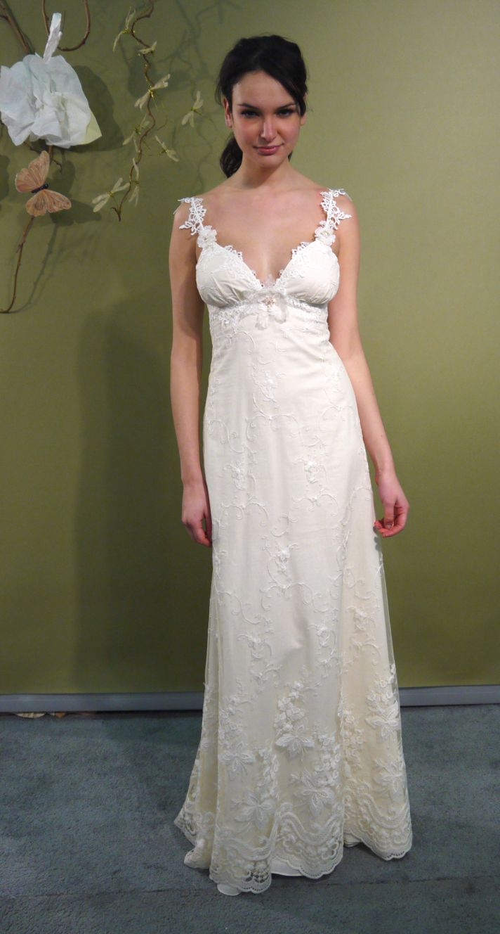 Fall 2011 claire pettibone wedding dresses bohemian for Wedding dress claire pettibone