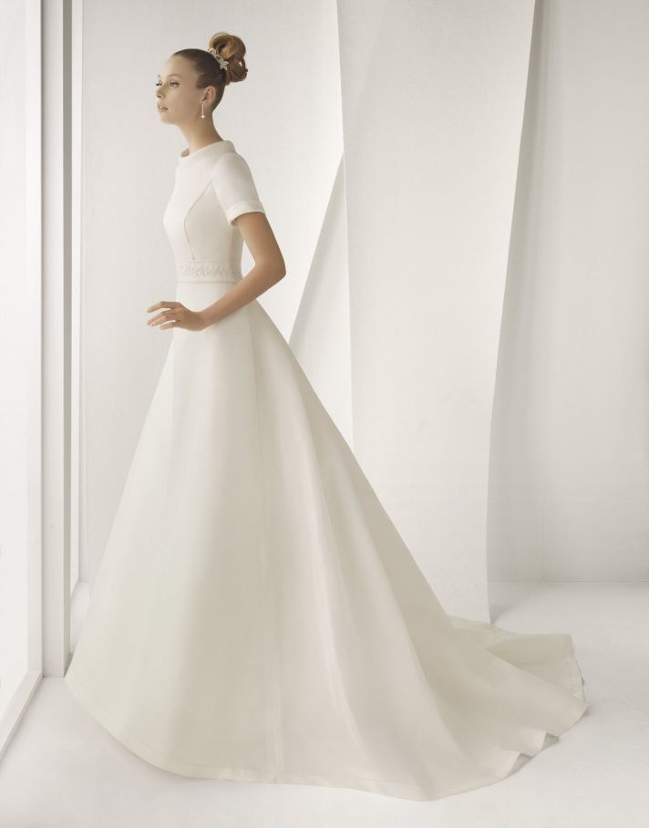 rosa clara wedding dresses spring 2012 aqua