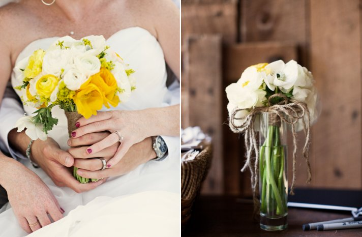 tennessee-bride-and-groom-wedding-photography-white-yellow-bridal-bouquet-rustic-chic-outdoor-venue