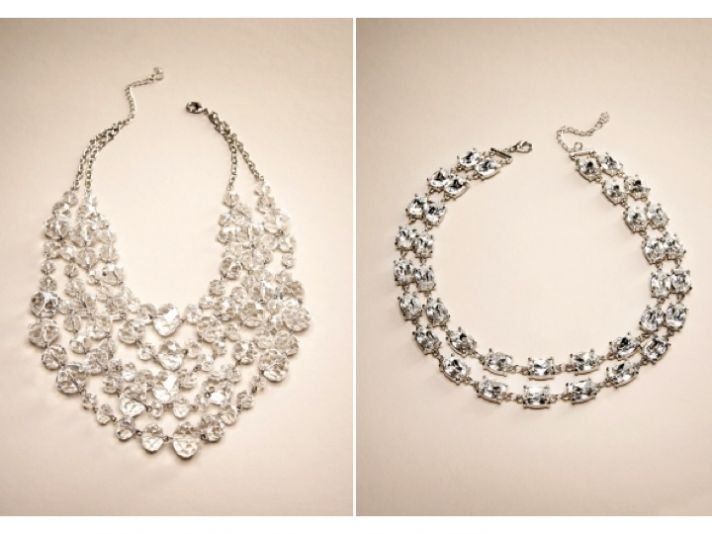 Statement bridal necklaces from The Limited