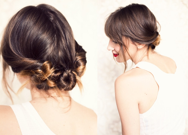 diy-wedding-hairstyle-how-to-chic-low-chignon-boho-brides-casual-wedding-style