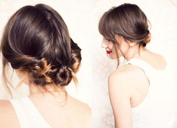 Soft wedding hairstyle for boho and beach brides