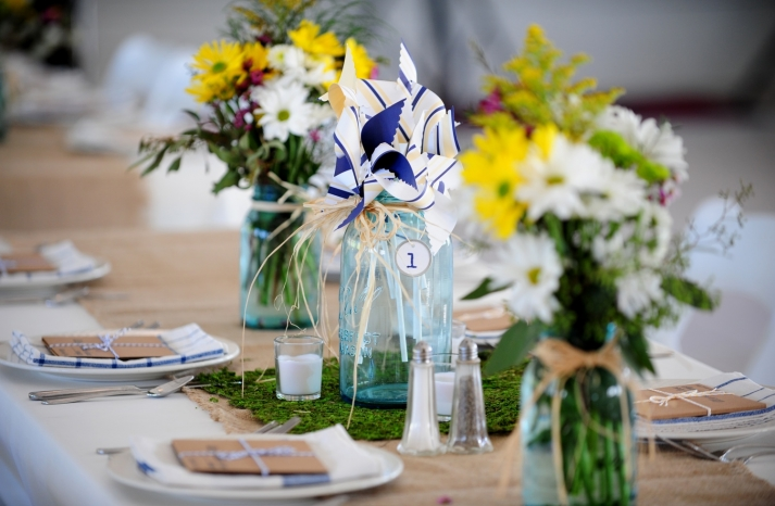 DIY-real-wedding-personalized-wedding-reception-details-centerpieces