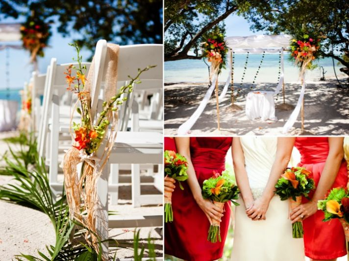 Tropical Beach Wedding In Key Largo Jess And Ryan
