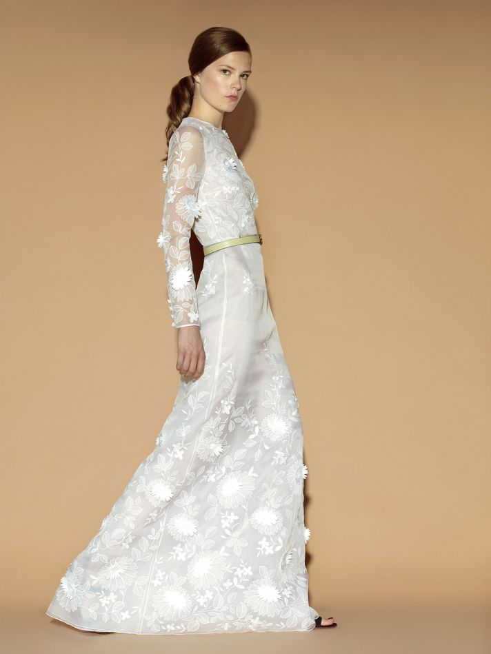 bridal style inspiration from valentino onewed With valentino wedding dress