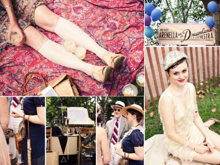 Roaring twenties Great Gatsby wedding inspiration and ideas