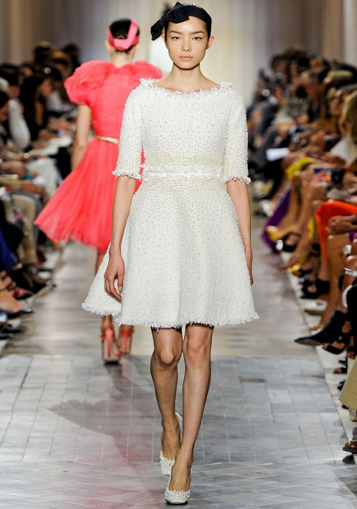 Couture 2011 little white dress to inspired your bridal look