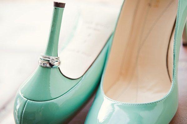 bridal heels with diamond