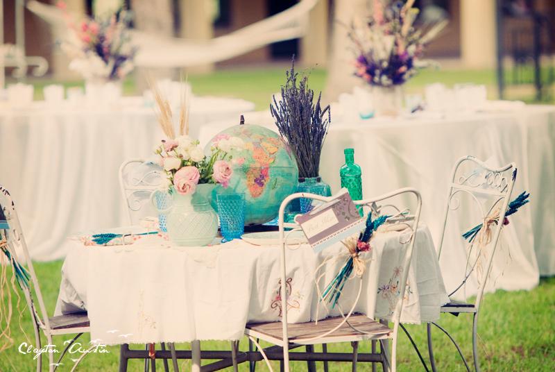 Boho chic wedding reception decor Credit Bohemian bridal style inspiration