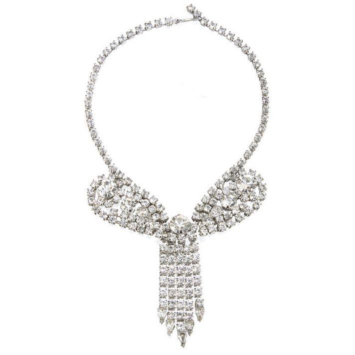 Vintage-inspired bridal necklace