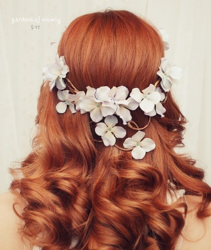 Wedding Hairstyles Boho: Bohemian Bride: Gardens Of Whimsy