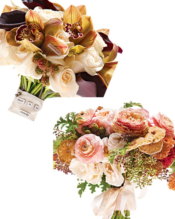 Rustic chic and romantic, these bridal bouquets will make you swoon!