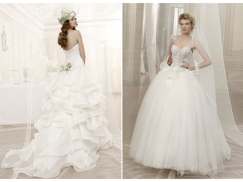 Credit 2012 wedding dresses from Atelier Aimee 39s Romeo and Juliet bridal