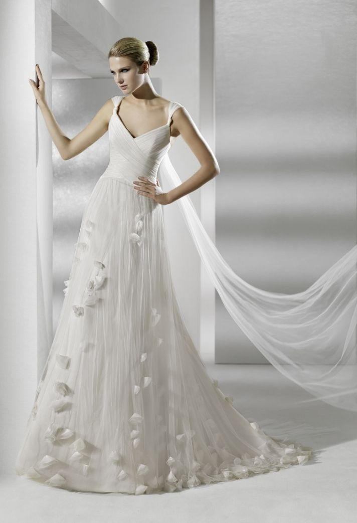 2012 wedding dresses by la sposa choose your style onewed for Picture of a wedding dress