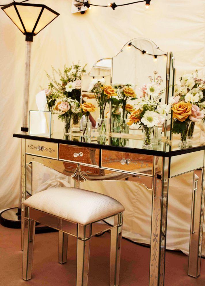 Antique wedding reception decor, romantic wedding flowers