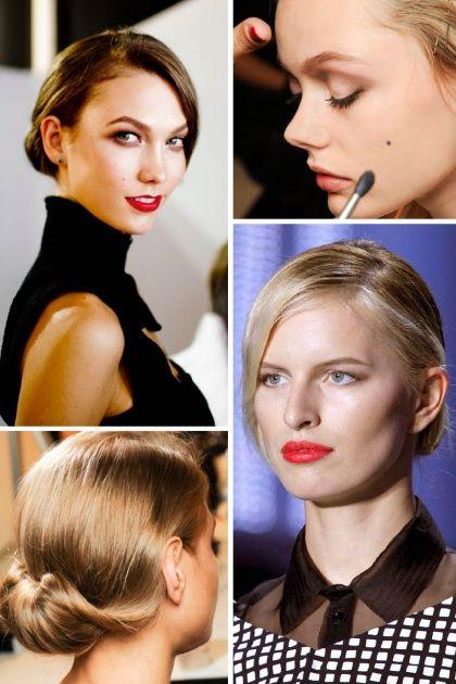 Sleek DIY wedding hairstyle