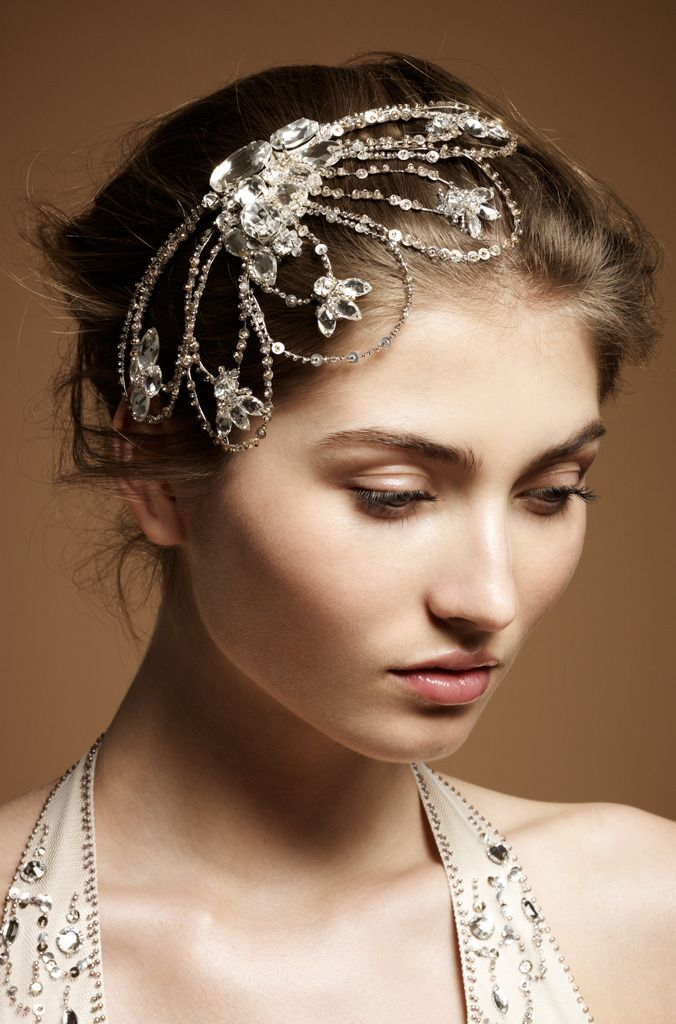 9 Heavenly Wedding Headdresses By Jenny Packham | OneWed