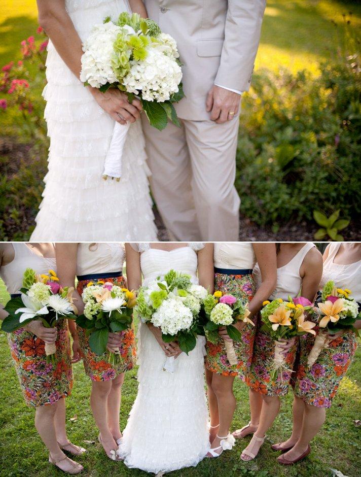 Outdoor boho chic wedding