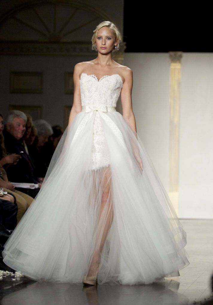 Spring 2012 wedding dresses by tara keely for Wedding dresses 2 in 1