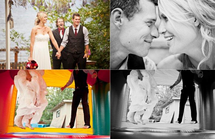 Fun wedding photos, real Washington wedding
