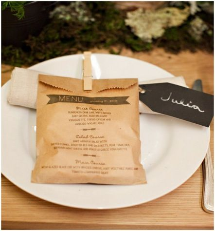 Five Favorite Unique Menu Ideas For Your Rustic Chic Wedding OneWed