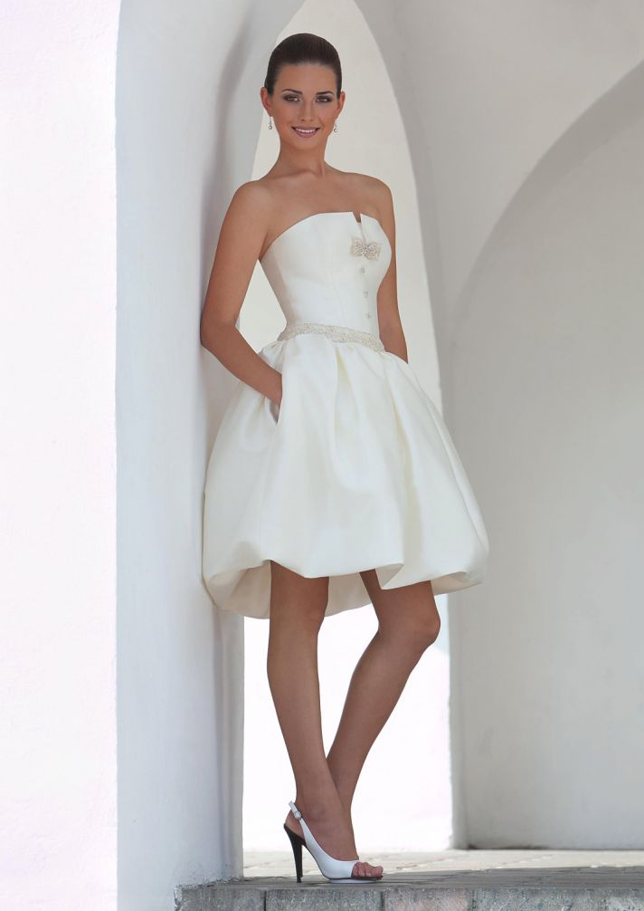 Wedding Reception Dresses Bride Short
