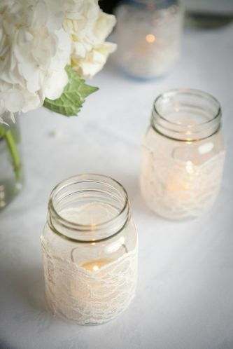 3step DIY wedding project using mason jars November 02nd 2011 by Azure