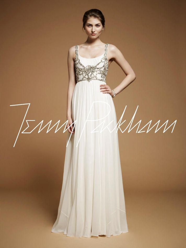 Jenny Packham wedding dress, 2012 bridal gowns 5