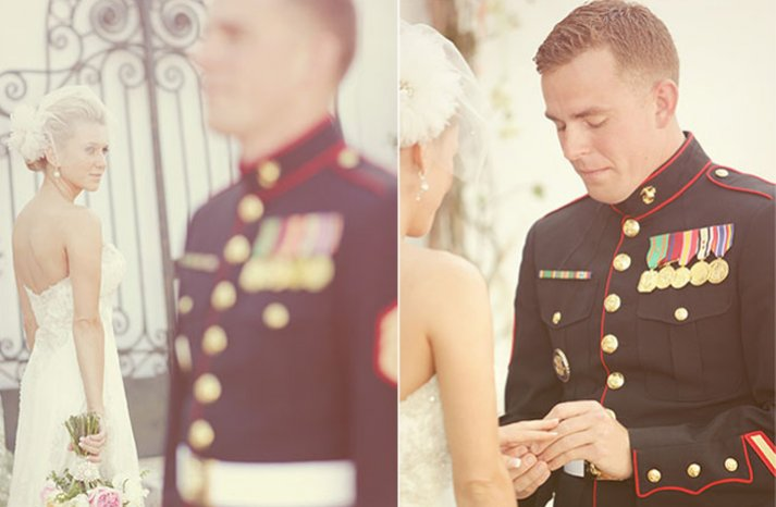 Real-weddings-military-groom