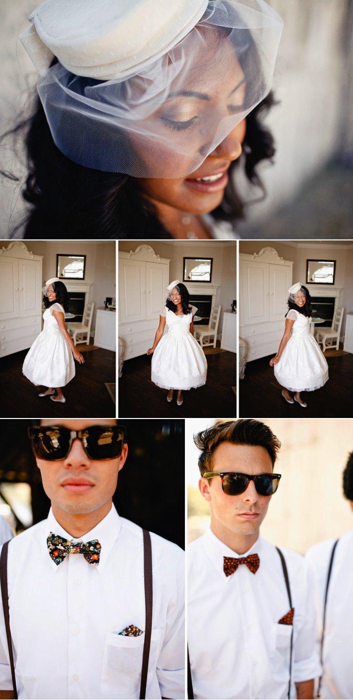 Real California weddings- vintage bride, barn wedding venue by Matthew Morgan Photography- 2