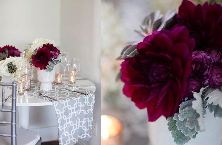 Deep-purple-wedding-flowers-centerpieces