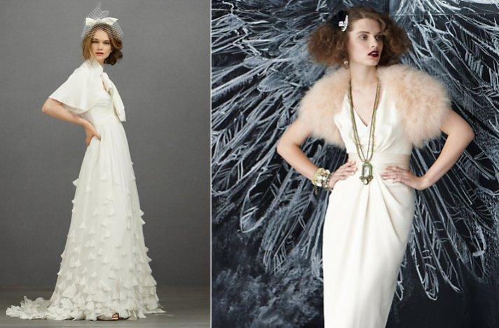 Bridal boleros by BHLDN