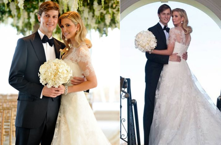 Ivanka-trump-wedding-photos-lace-dress