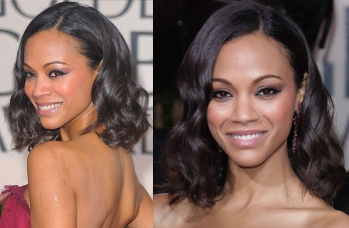 Zoe-saldana-short-wedding-hair