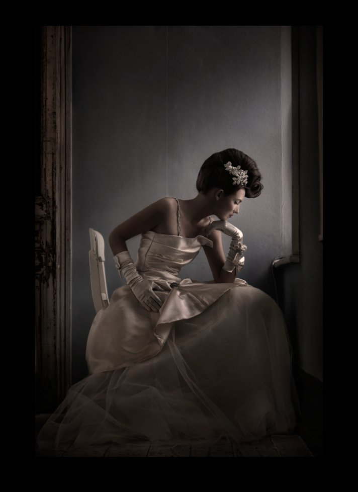 terry fox couture wedding dress