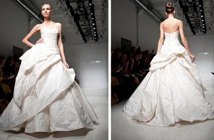 sweetheart ballgown wedding dress 2012 bridal gowns christos