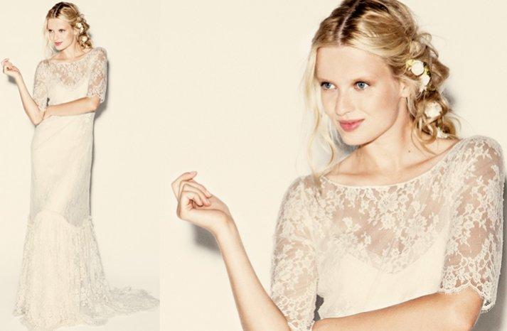 delphine manifet 2012 wedding dresses boho bridal gown 11 lace