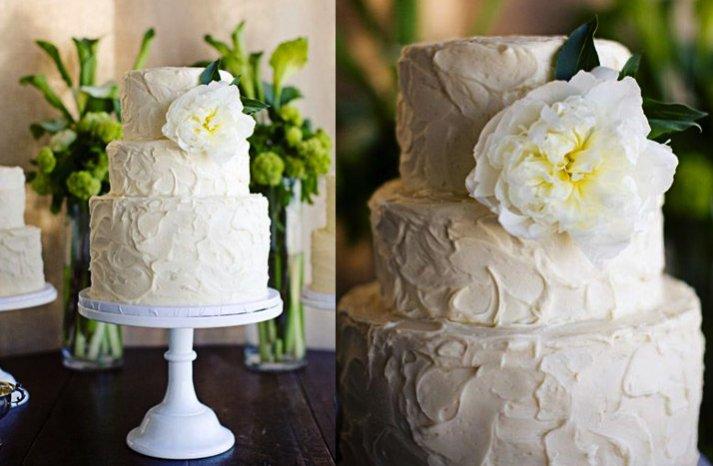 Garden-wedding-cake-white-green-yellow