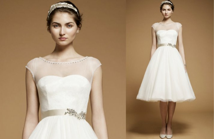 Sheer-cap-sleeve-wedding-reception-dress