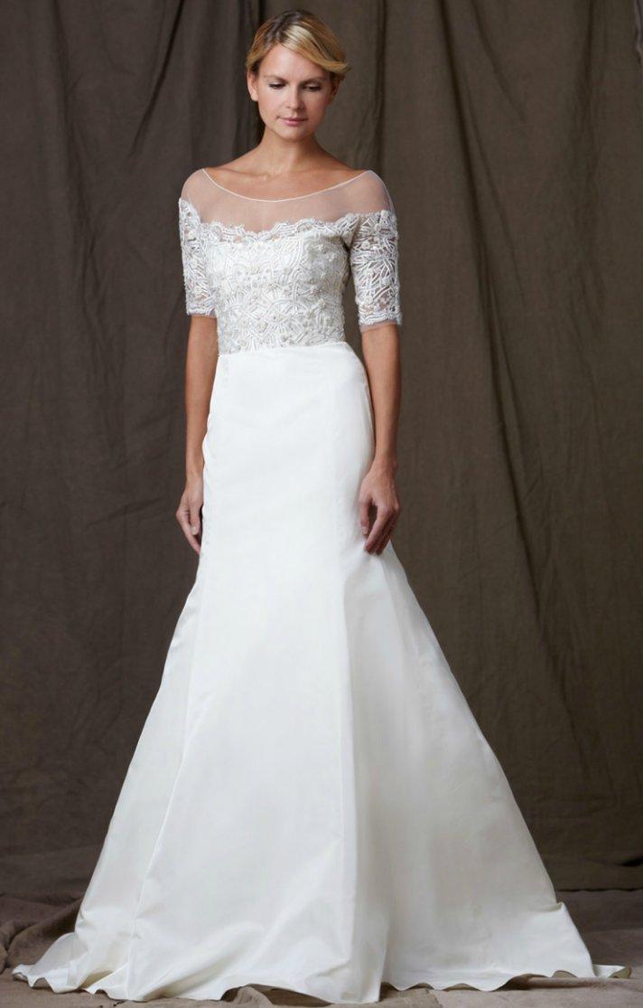 lela rose 2012 wedding dress a line bridal gowns lace