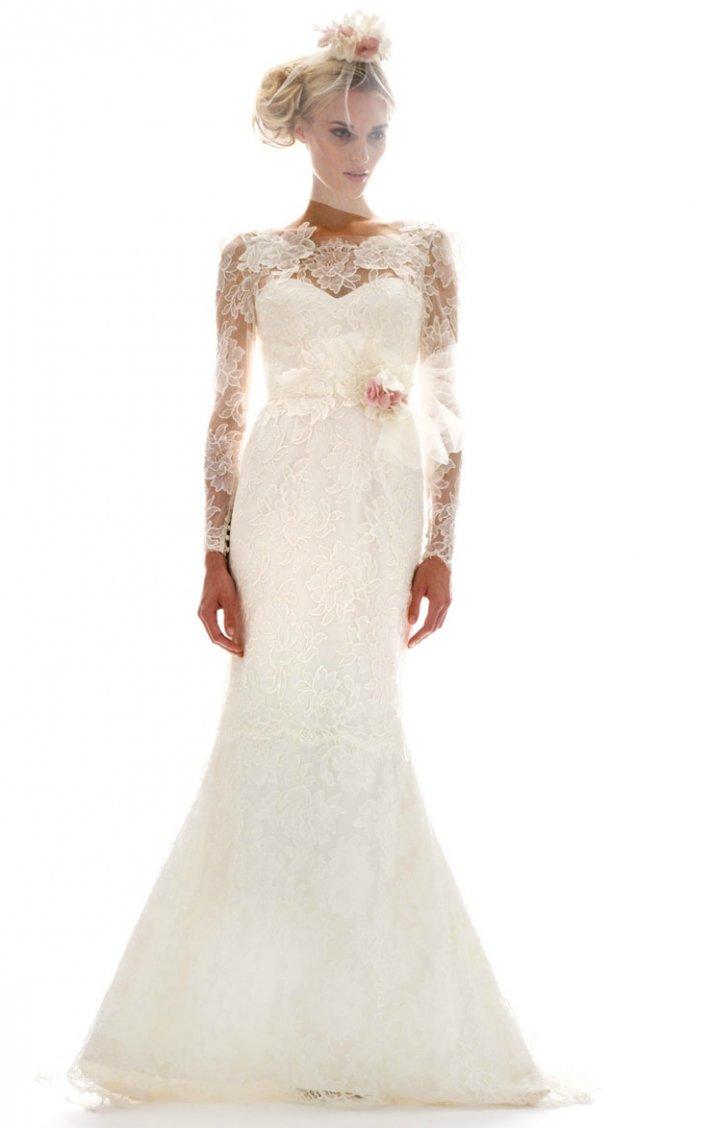 printed wedding dresses 2012 bridal gown trend elizabeth fillmorew