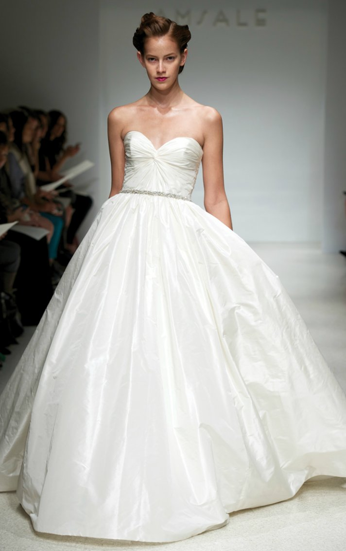 2012 wedding dresses ballgown bridal gown amsale 2