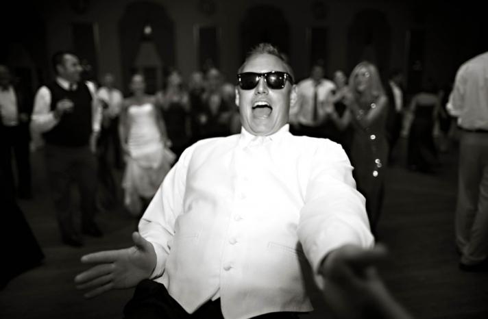 blackmail wedding photos drunk groom