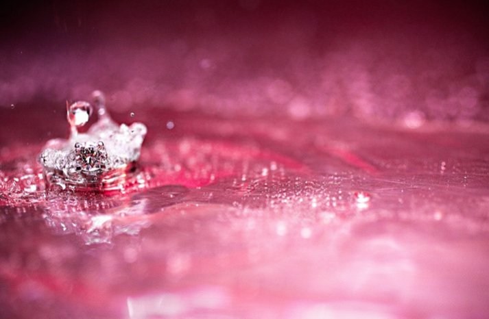 round engagement ring pink wedding color palette