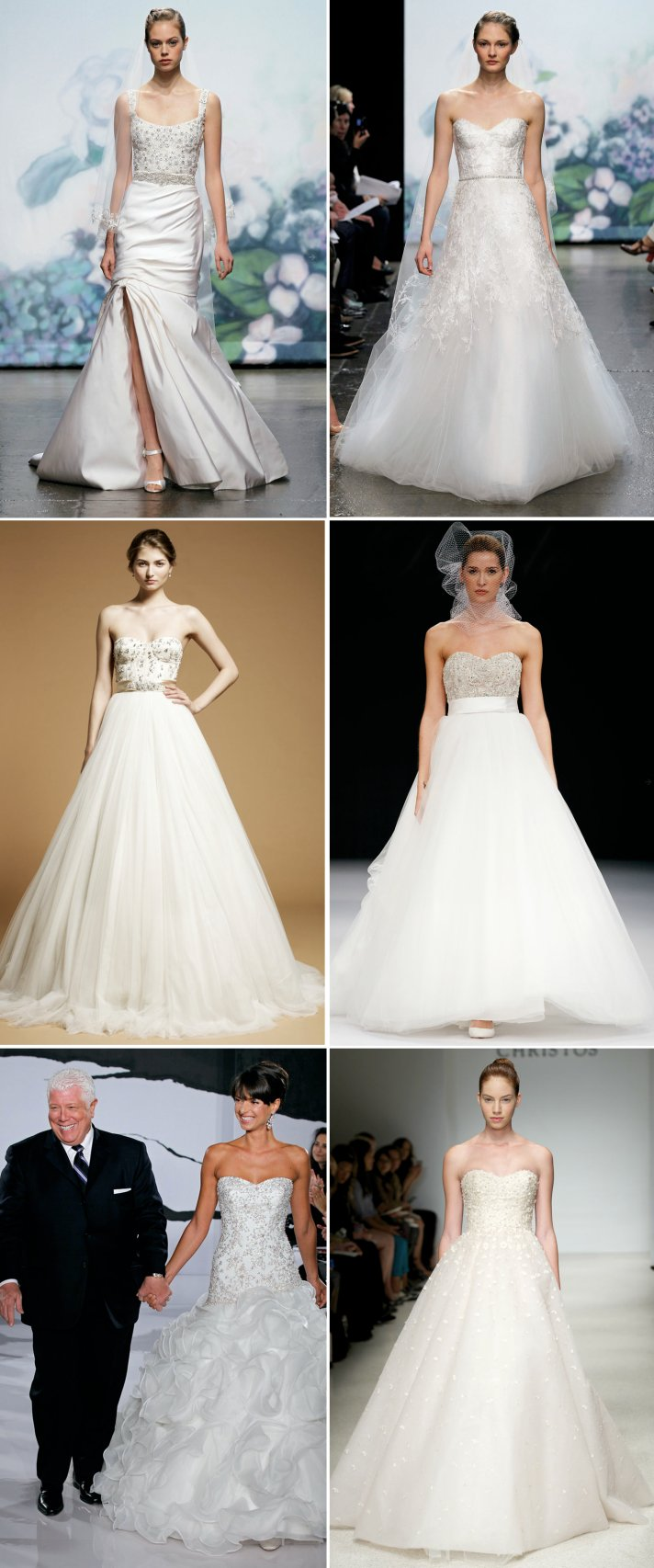 2012 wedding dresses corset bodices mermaid ballgown a line