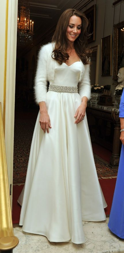 White Wedding Reception Dresses