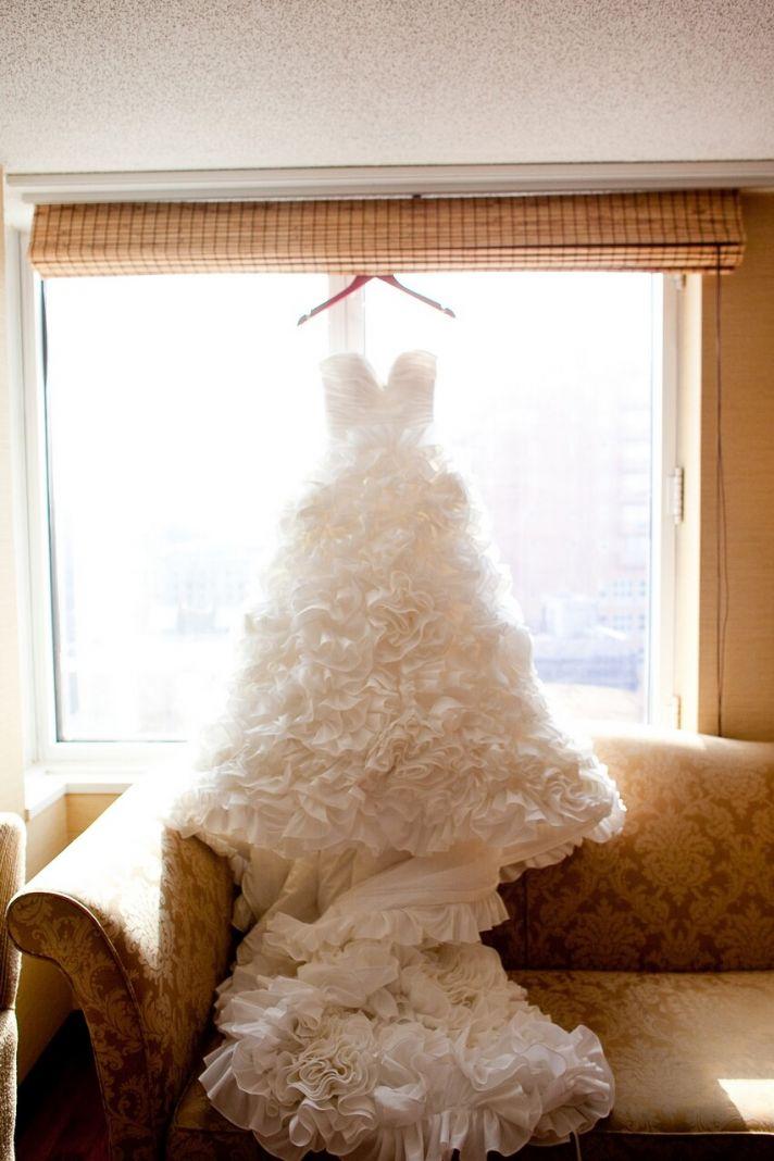 ballgown wedding dress sweetheart neckline